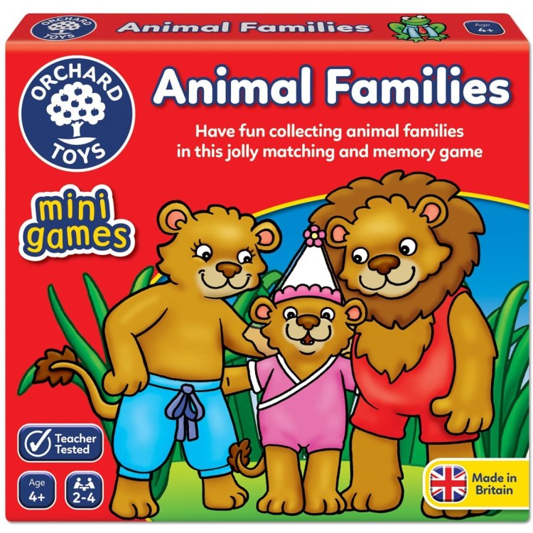 Orchard Toys Animal Families Mini Games