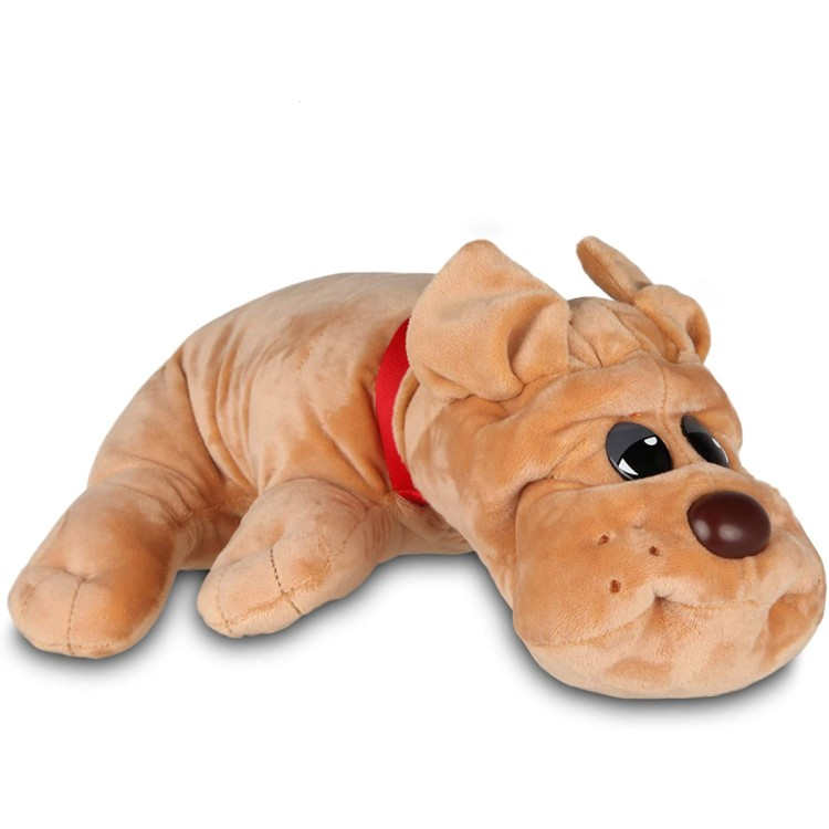 Basic Fun Pound Puppies Classic Light Brown Rumpled Skin Puppy