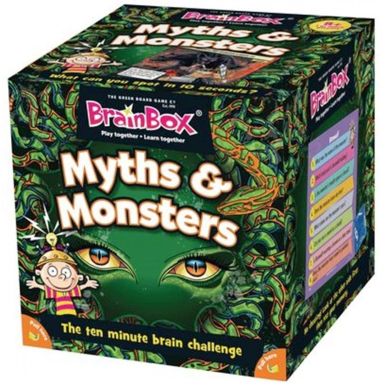 BrainBox Myths & Monsters Game