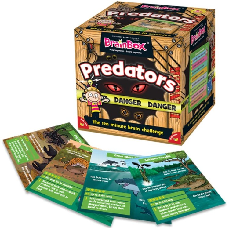 BrainBox Predators Game