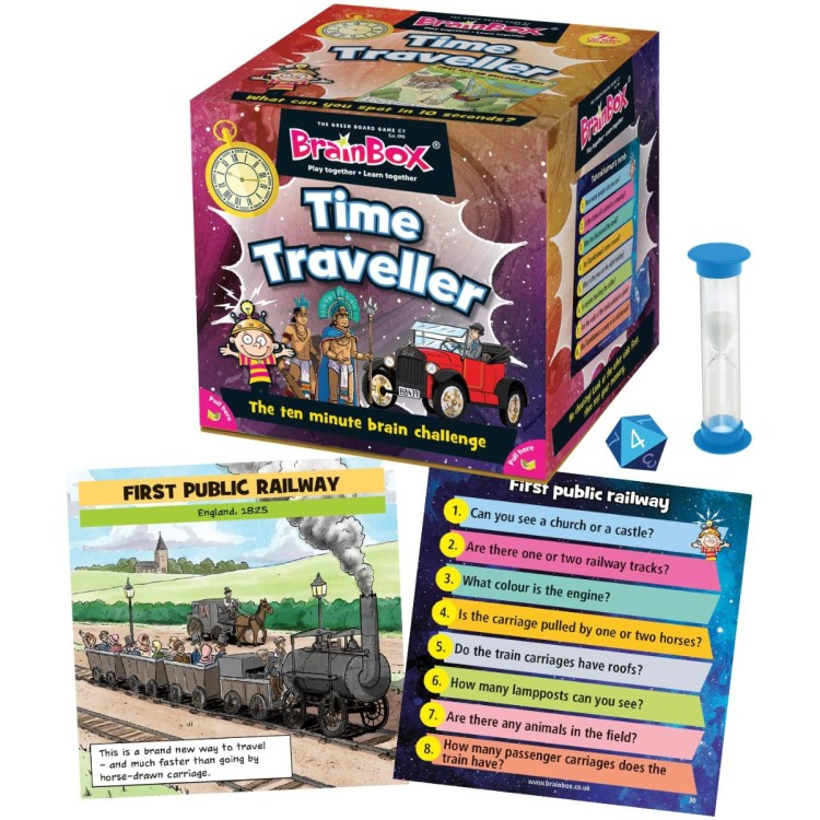 BrainBox Time Traveller Game