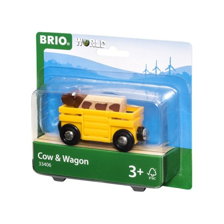 Brio Cow and Wagon
