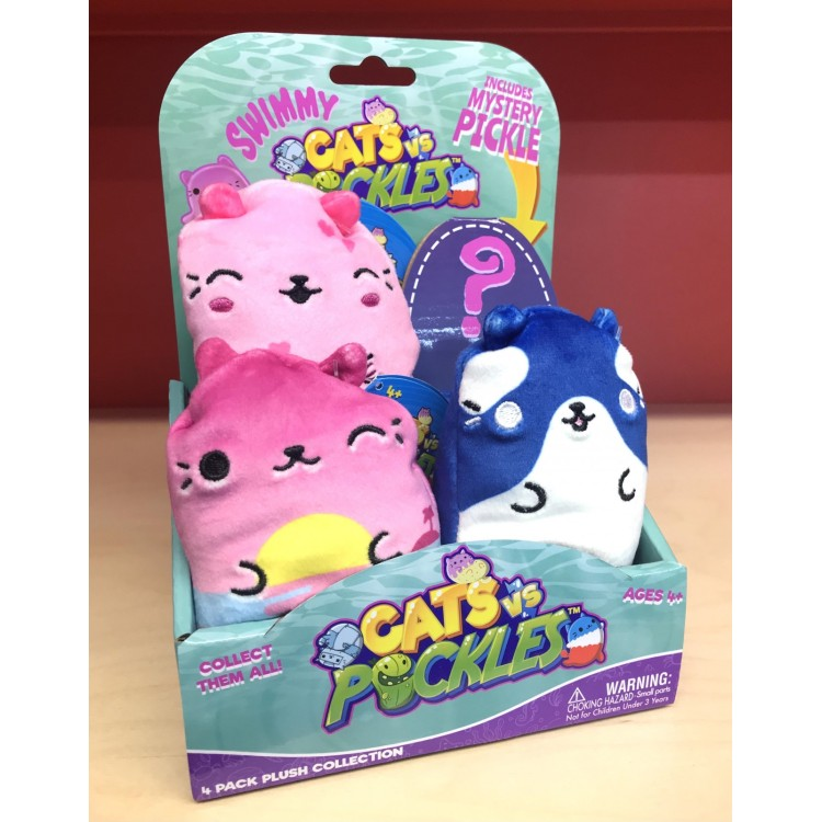 Cats vs Pickles Swimmy 4 Pack Collection