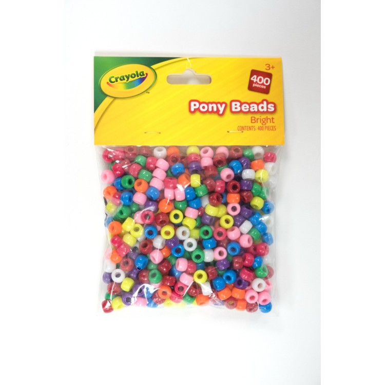 Crayola Pack of Assorted Pony Beads 160 Pieces