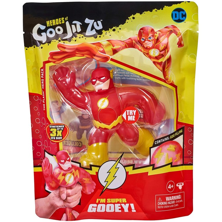 DC Heroes of Goo Jit Zu The Flash Figure