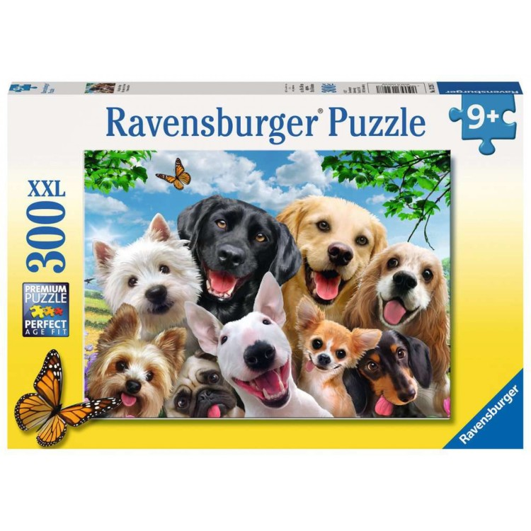 Ravensburger Delighted Dogs 300 XXL Piece Jigsaw Puzzle