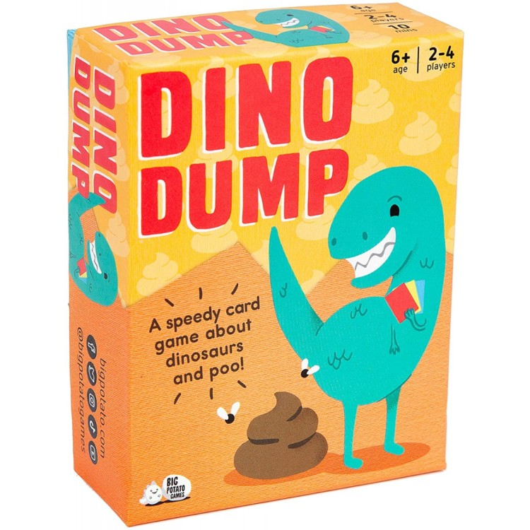 Big Potato Dino Dump Mini Game