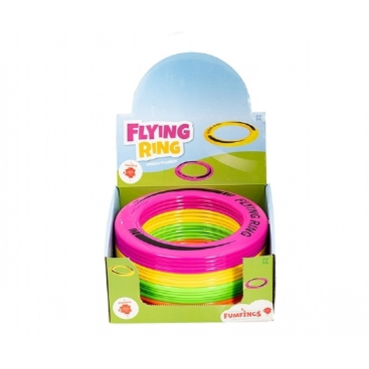 Fumfings Flying Ring (One Colour Ring Chosen at Random)
