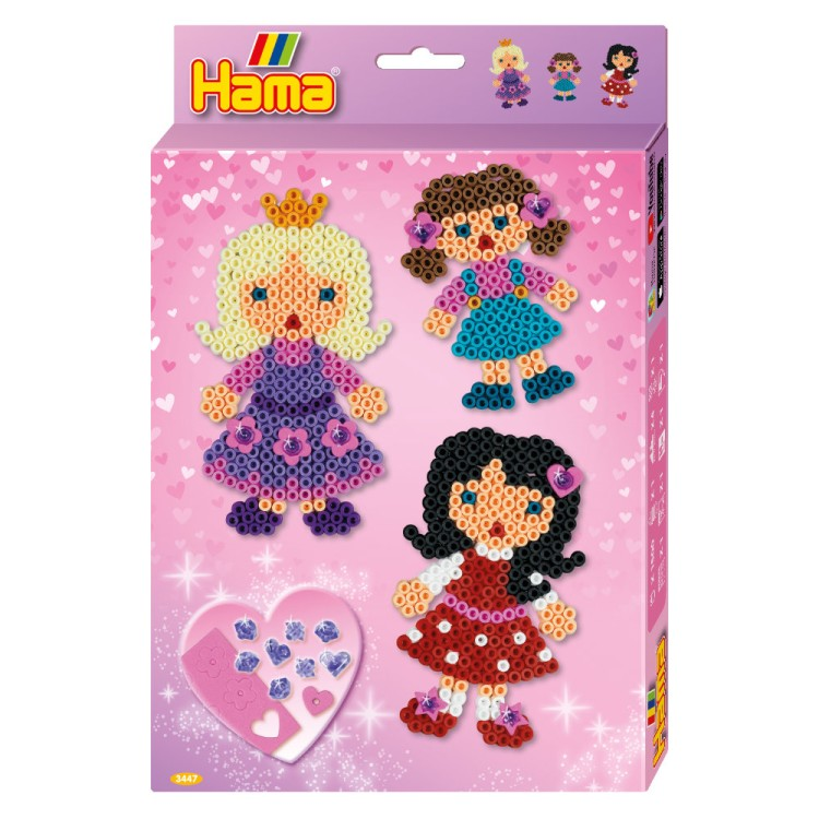 Hama Beads Fashion Girls Hanging Box