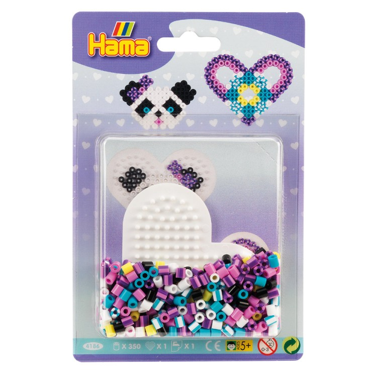 Hama Beads Small Heart Blister Pack