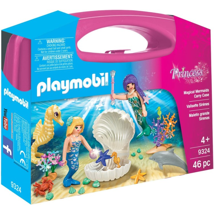 Playmobil 9324 Magical Mermaid Carry Case