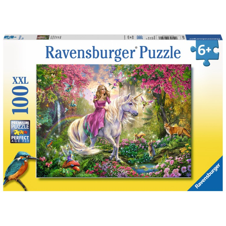 Ravensburger Magical Ride Unicorn XXL 100 Piece Jigsaw Puzzle