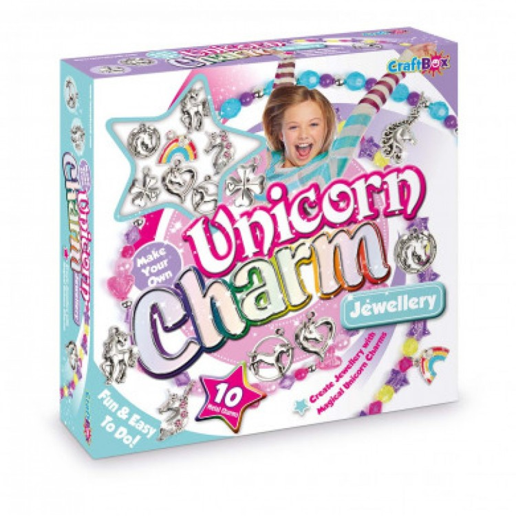 Make Your Own Unicorn Charm Jewellery