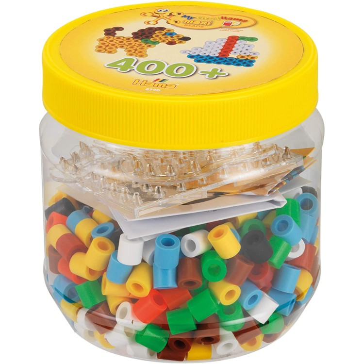 My First Hama Maxi Beads Tub of 400 Beads