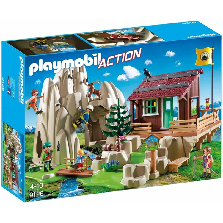 Playmobil 9216 Rock Climbers with Cabin Set