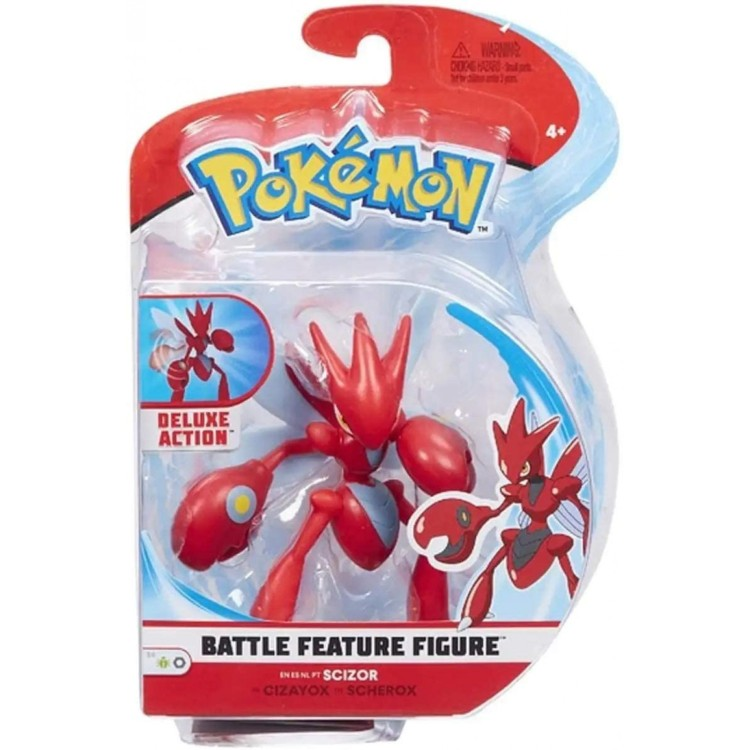 Pokemon Scizor Battle Feature Figure