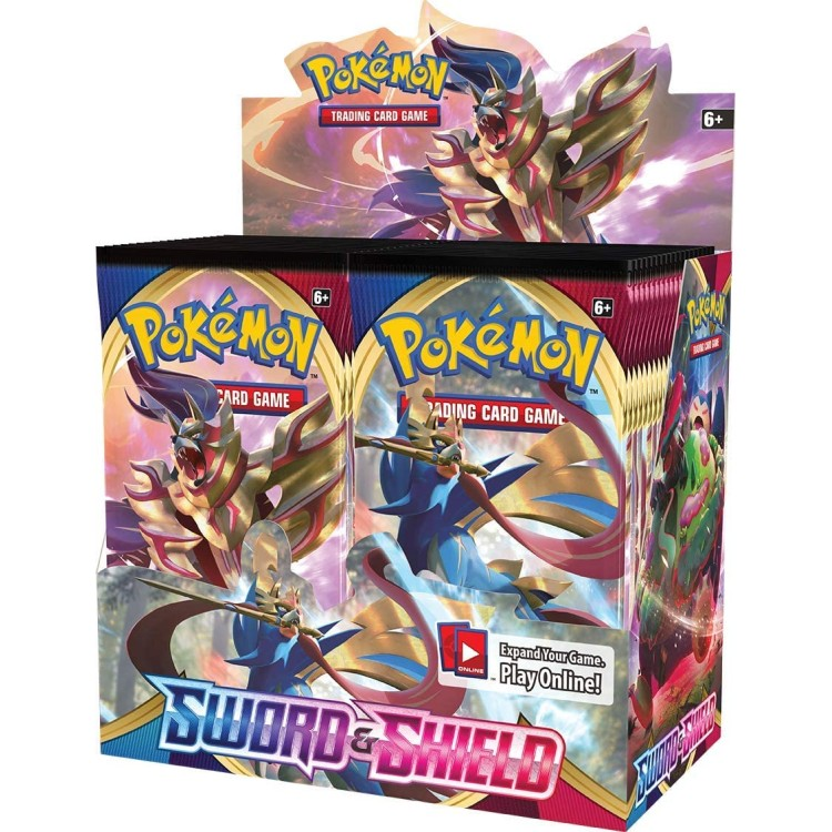 Pokemon TCG Sword and Shield Booster Pack (One Pack Supplied