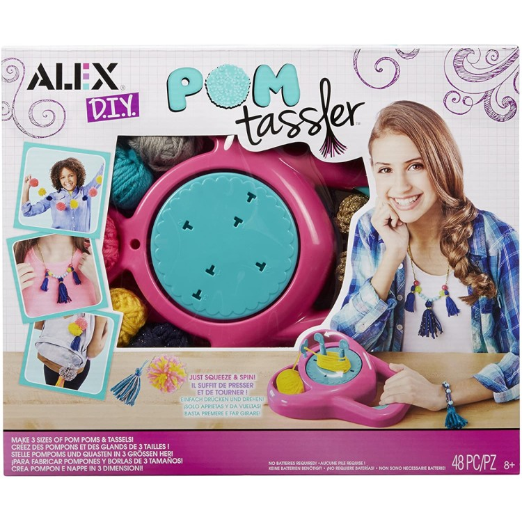 Alex DIY Pom Tassler Set