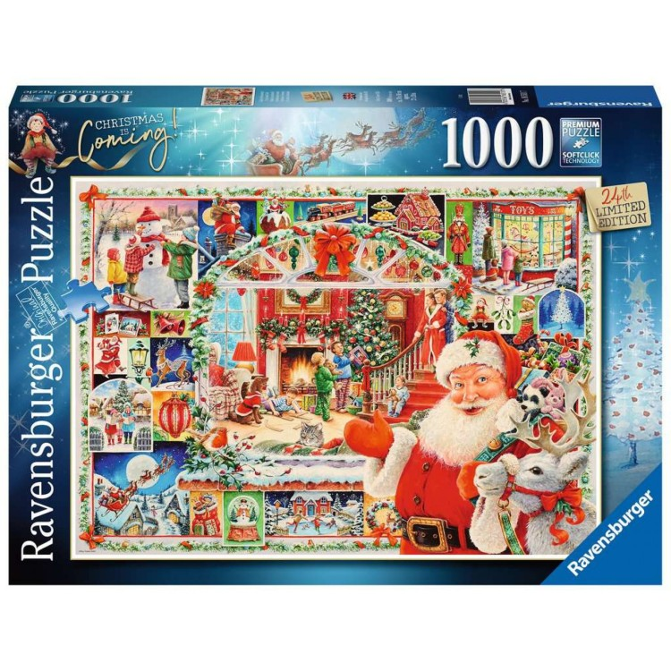 Ravensburger Limited Edition Christmas is Coming! 1000 Piece Jigsaw Puzzle