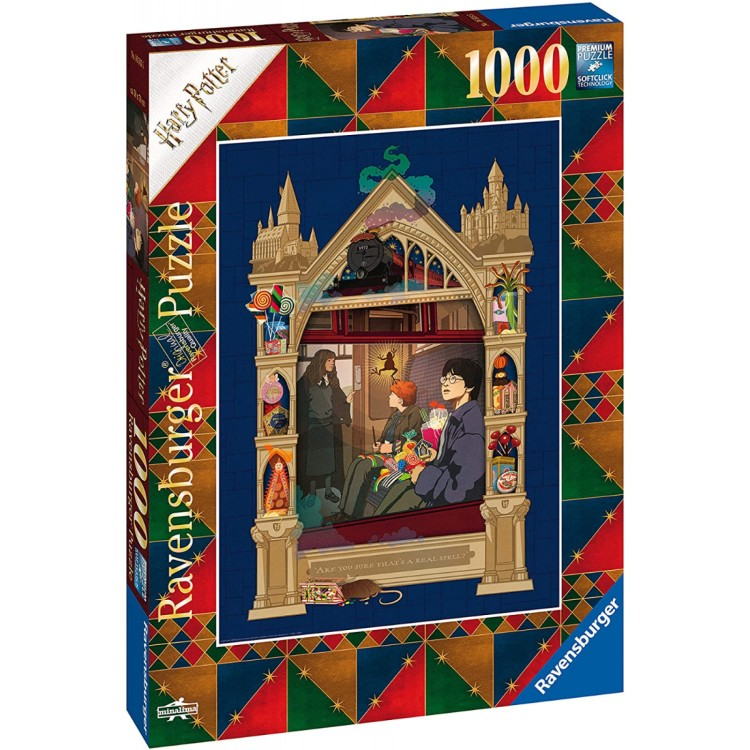 Ravensburger Harry Potter On The Way To Hogwarts 1000 Piece Jigsaw Puzzle
