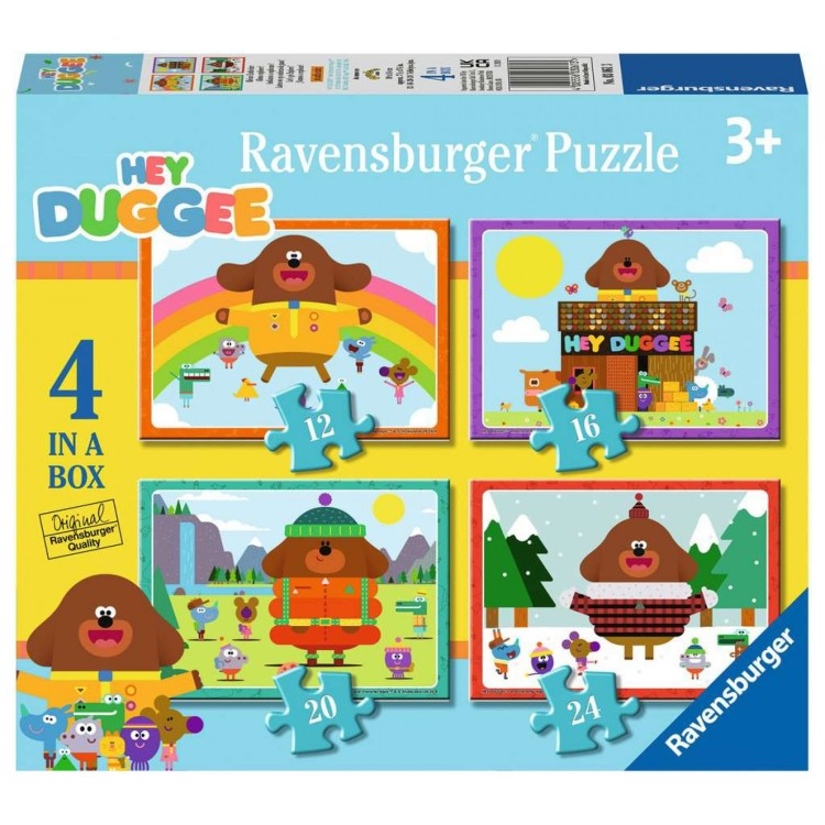 Ravensburger Hey Duggee 4 in a Box Jigsaw Puzzles