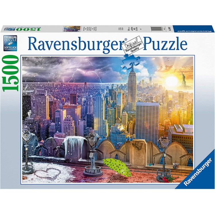 Ravensburger Seasons of New York 1500 piece Jigsaw Puzzle