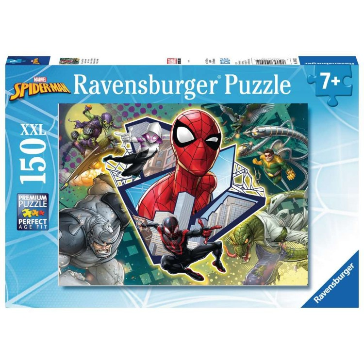 Ravensburger Spider-Man Friends and Enemies 150 XXL Piece Jigsaw Puzzle