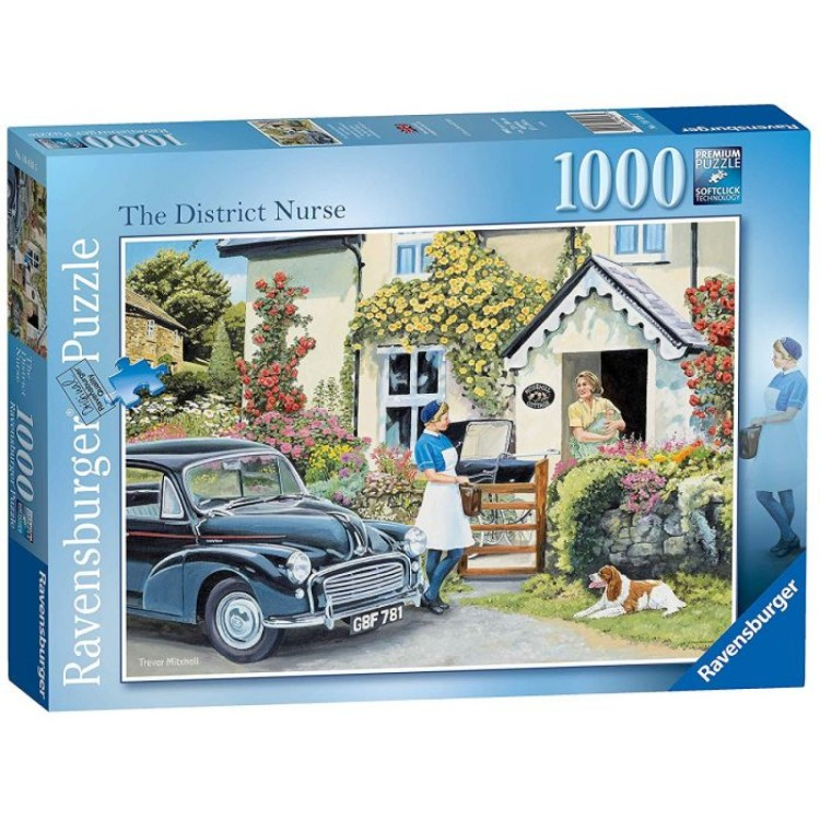 Ravensburger The District Nurse 1000 Piece Jigsaw Puzzle