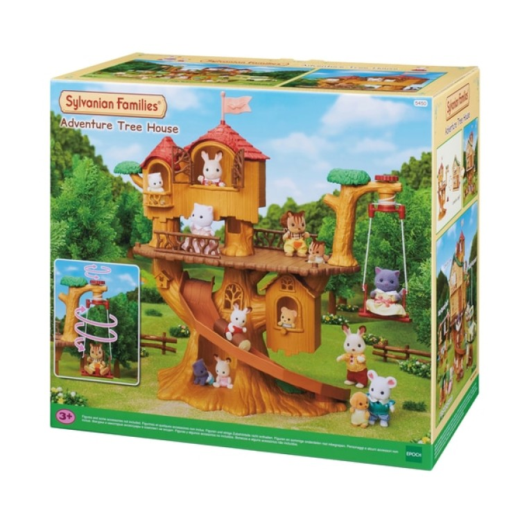 Sylvanian Families Adventure Tree House Playset