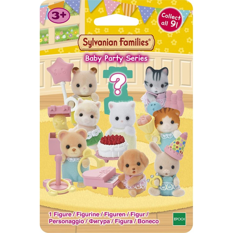 Sylvanian Families Baby Party Series Blind Bag (One Chosen at Random)