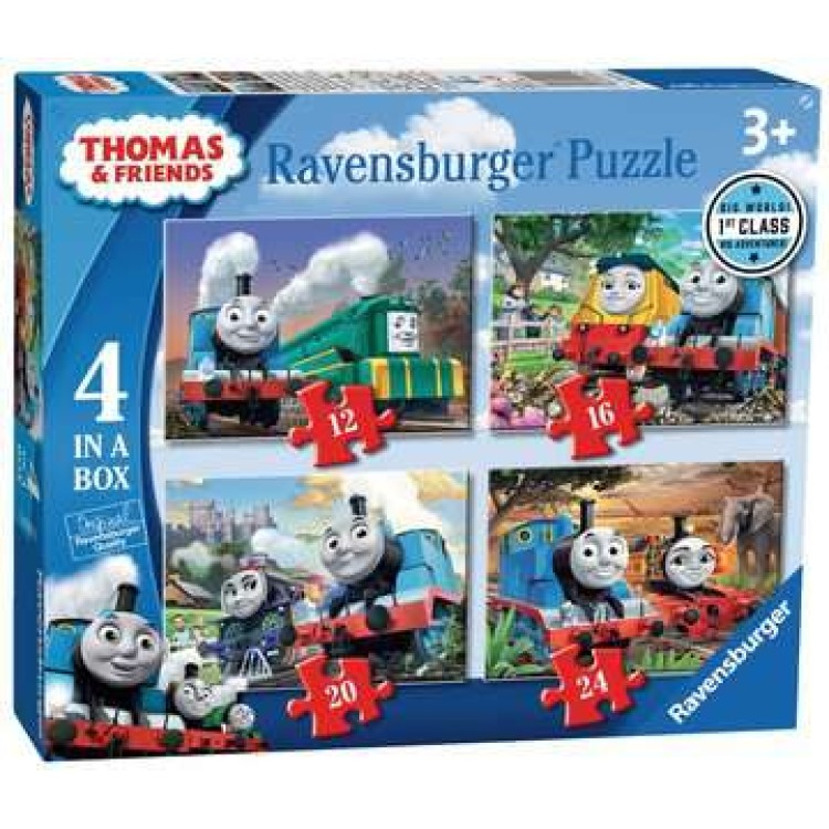 Ravensburger Thomas & Friends 4 in a Box Jigsaw Puzzles