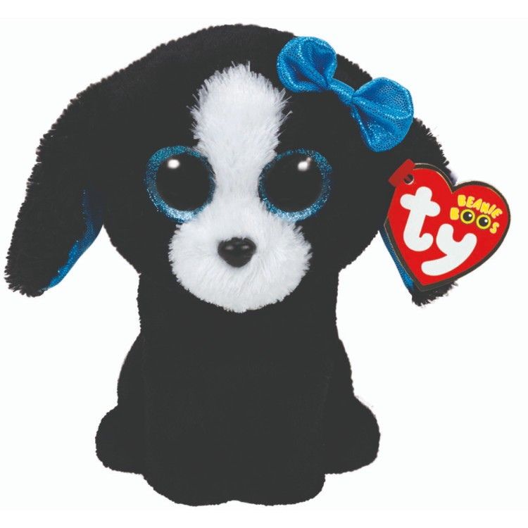 TY Tracey the Dog Beanie Boo Regular Size