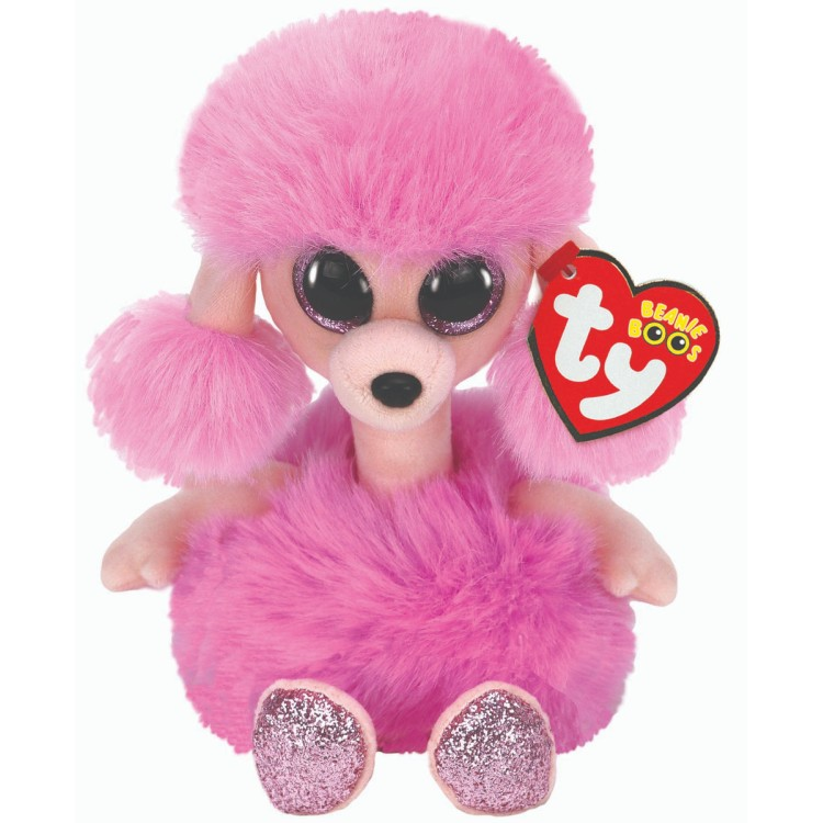 TY Camilla the Poodle Beanie Boo Regular Size
