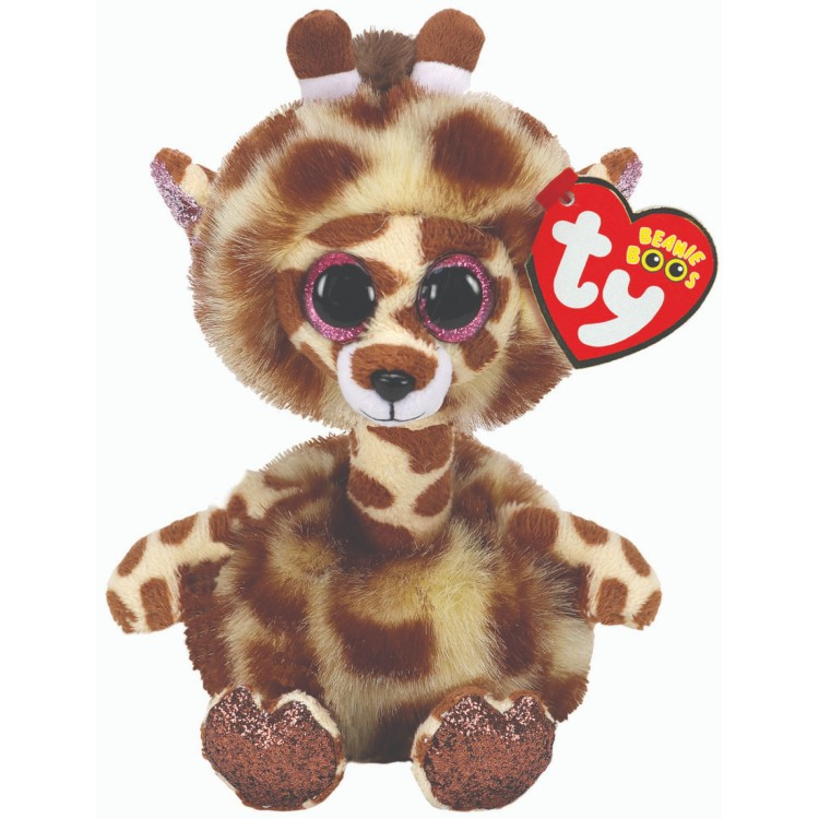 TY Gertie the Giraffe Beanie Boo Regular Size