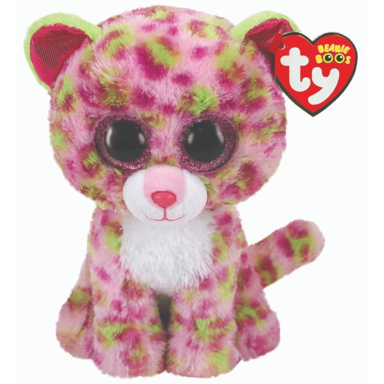 TY Lainey the Leopard Beanie Boo Regular Size