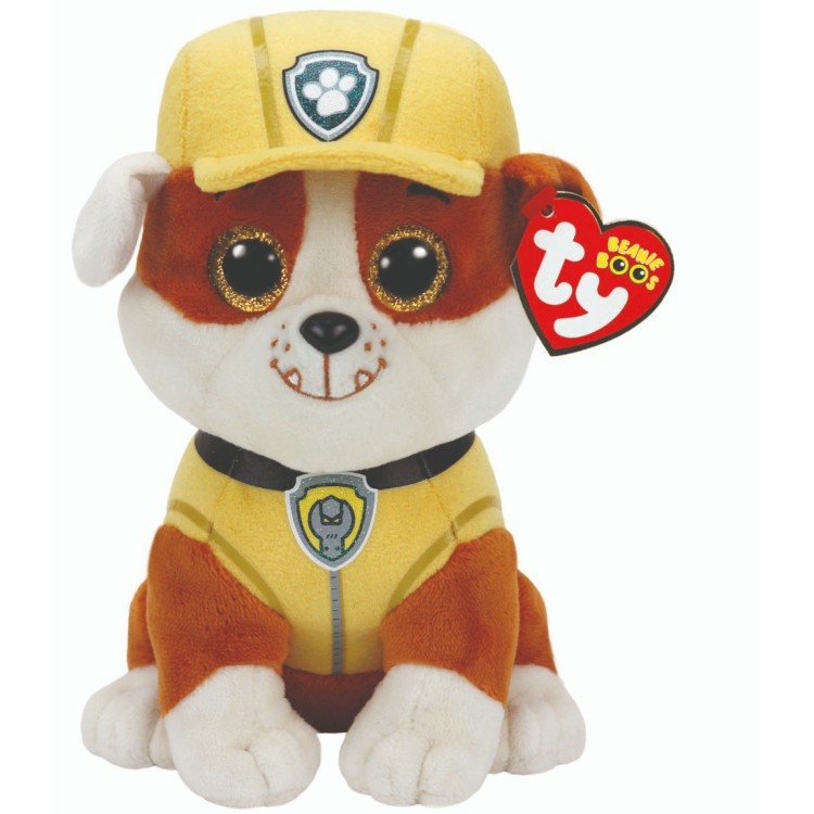 TY Paw Patrol Rubble Beanie Boo Regular Size